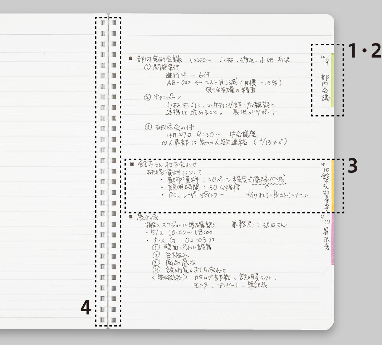 Biz|ソフトリングノート|商品...